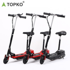 TOPKO JX-037E adults kids home use 8km long range battery 6 inch rubber wheel electric scooter