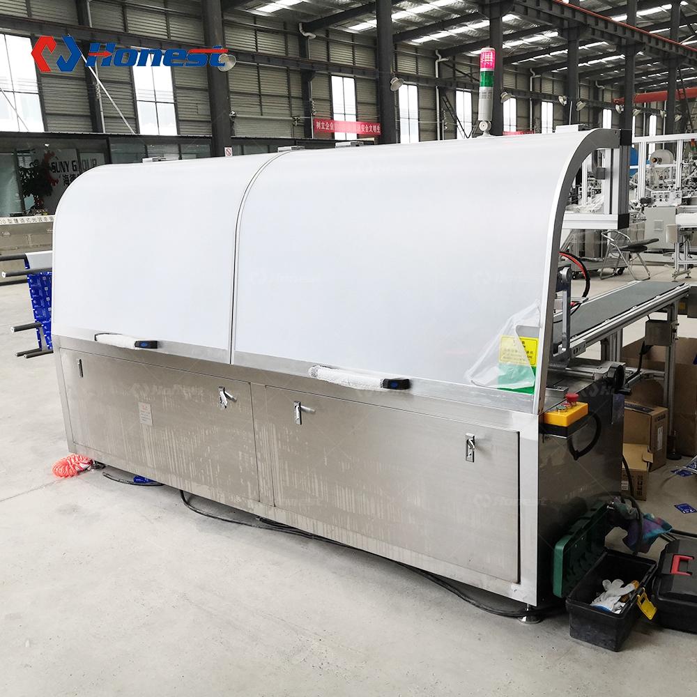 Высокоскоростной четыре ЗИП-влажные салфетки упаковки и делая машину