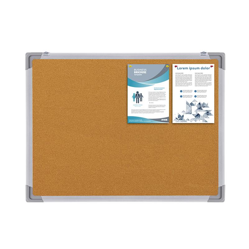 Hot sale pine wood standard bulletin board any color fabric board supply office or school - Yola WhiteBoard | szyola.net