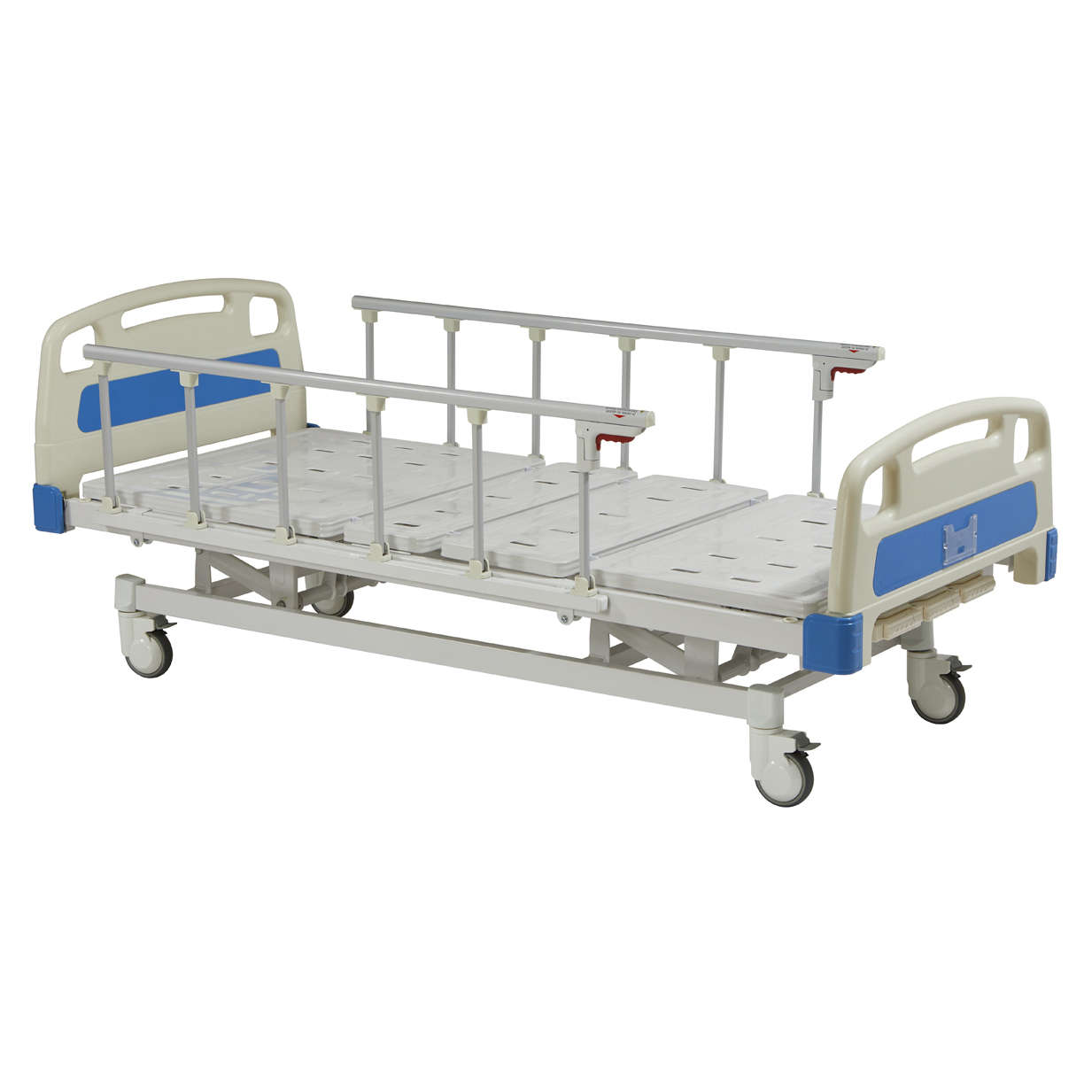three function electric medical hospital bed for elderly people and disable man used health care nursing steel hospital bed