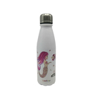 Sublimation Blanks Cola Shape Slim Aluminum Sport Water Bottle Custom Logo Sublimation 500ml Aluminum Water Bottle
