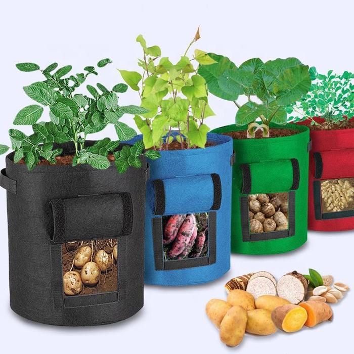 Мешки для выращивания растений, домашние садовые теплицы для картофеля, теплицы для выращивания овощей, увлажняющие корзины для выращивания