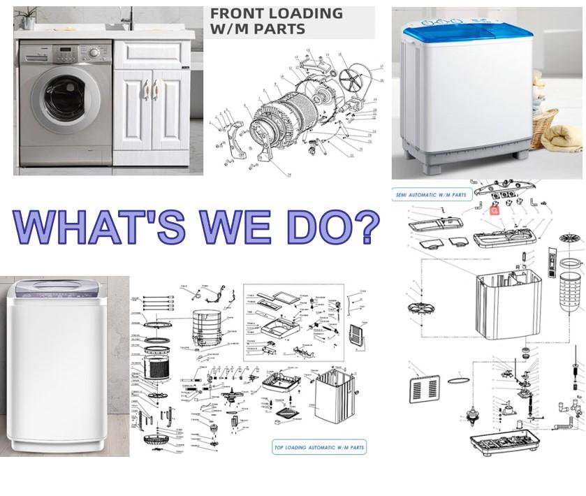 Gear box motor timer twin tub washing machine parts