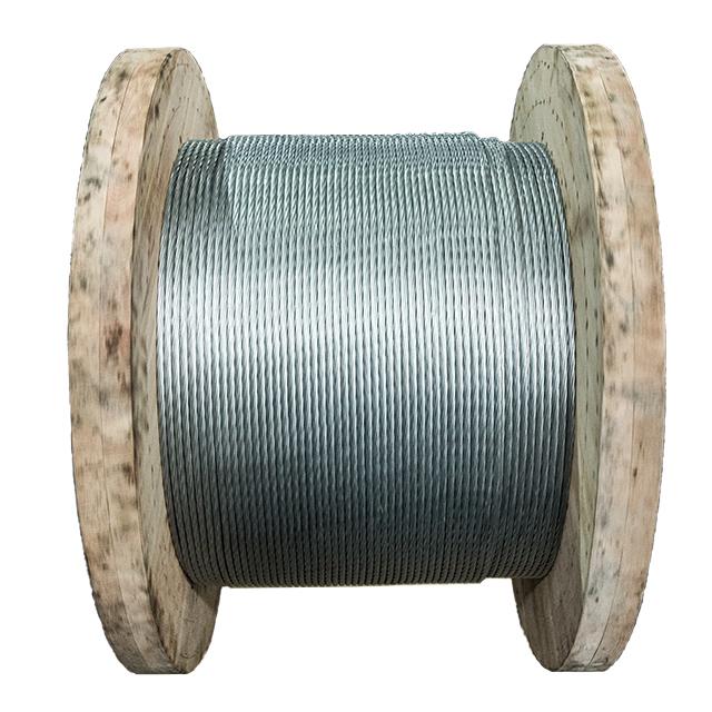 7/1.8mm BS183 standard galvanized steel wire stranded heavy zinc coated