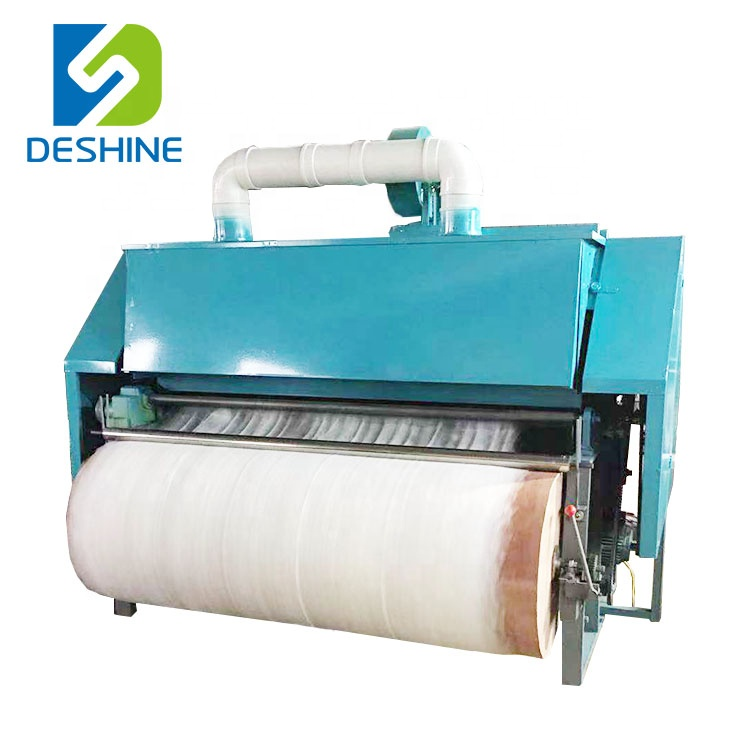 Commercial sheep wool fiber carding machine cotton combing machine