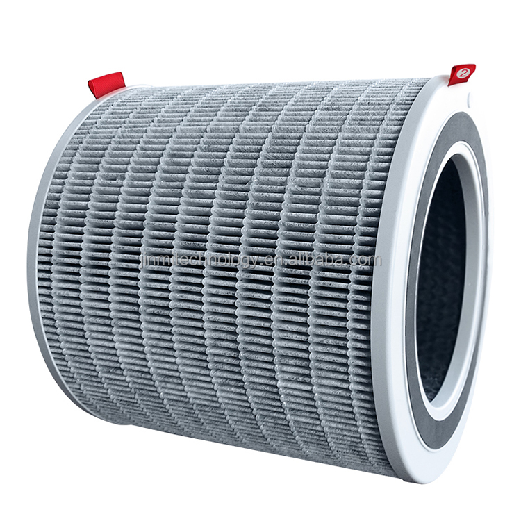 H13 H14 Hepa Purifier Round Activated Carbon Air Filter Air Cartridge