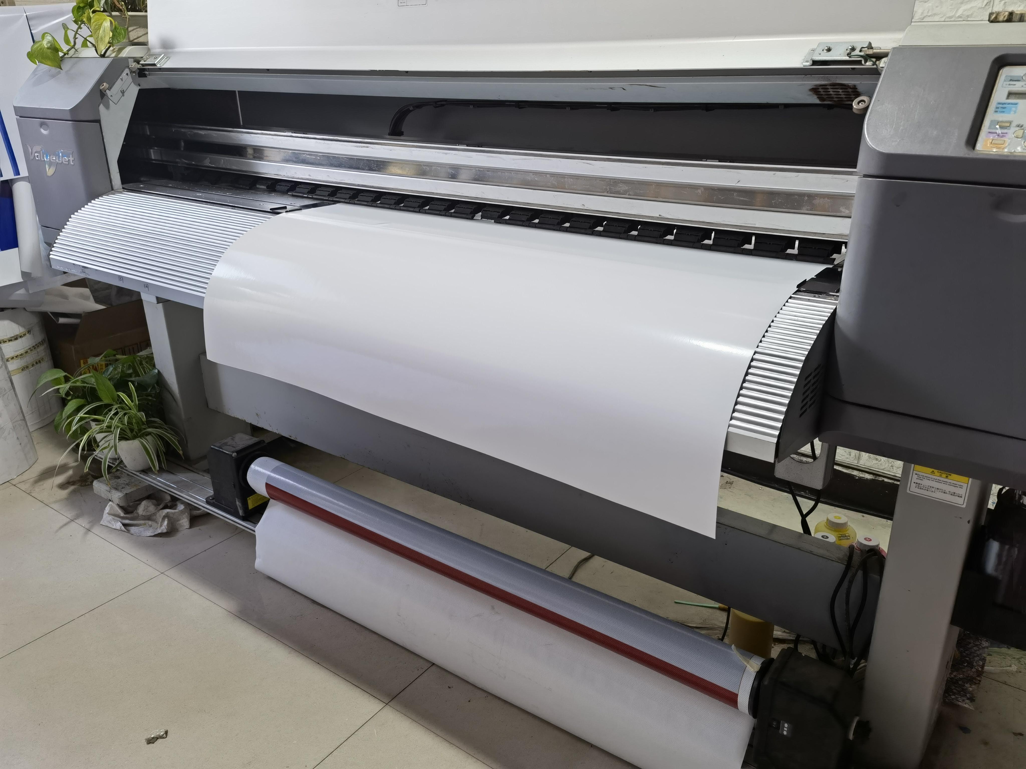Unisign Водонепроницаемая Глянцевая Самоклеящаяся виниловая наклейка из ПВХ с цифровой печатью, самоклеящаяся виниловая наклейка для автомобиля