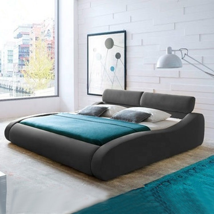 bed in bangladesh customizable modern design master bedroombed leather mattress master bed