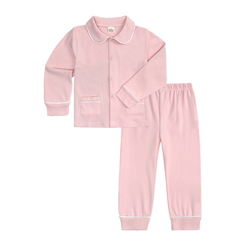 Baby casual clothes sets babies clothes 1-6 years girl boys 100% organic Designed for daily sleep clothes