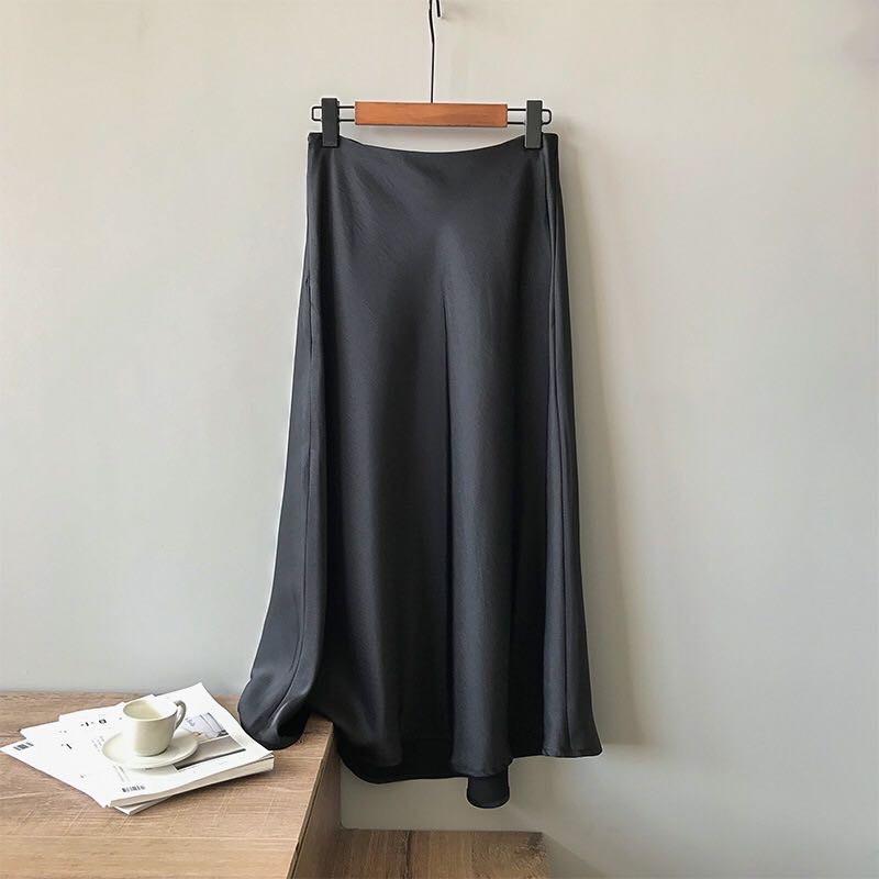 Юбка-трапеция люкс yx0320Y в Корейском стиле, женские юбки с высокой талией
