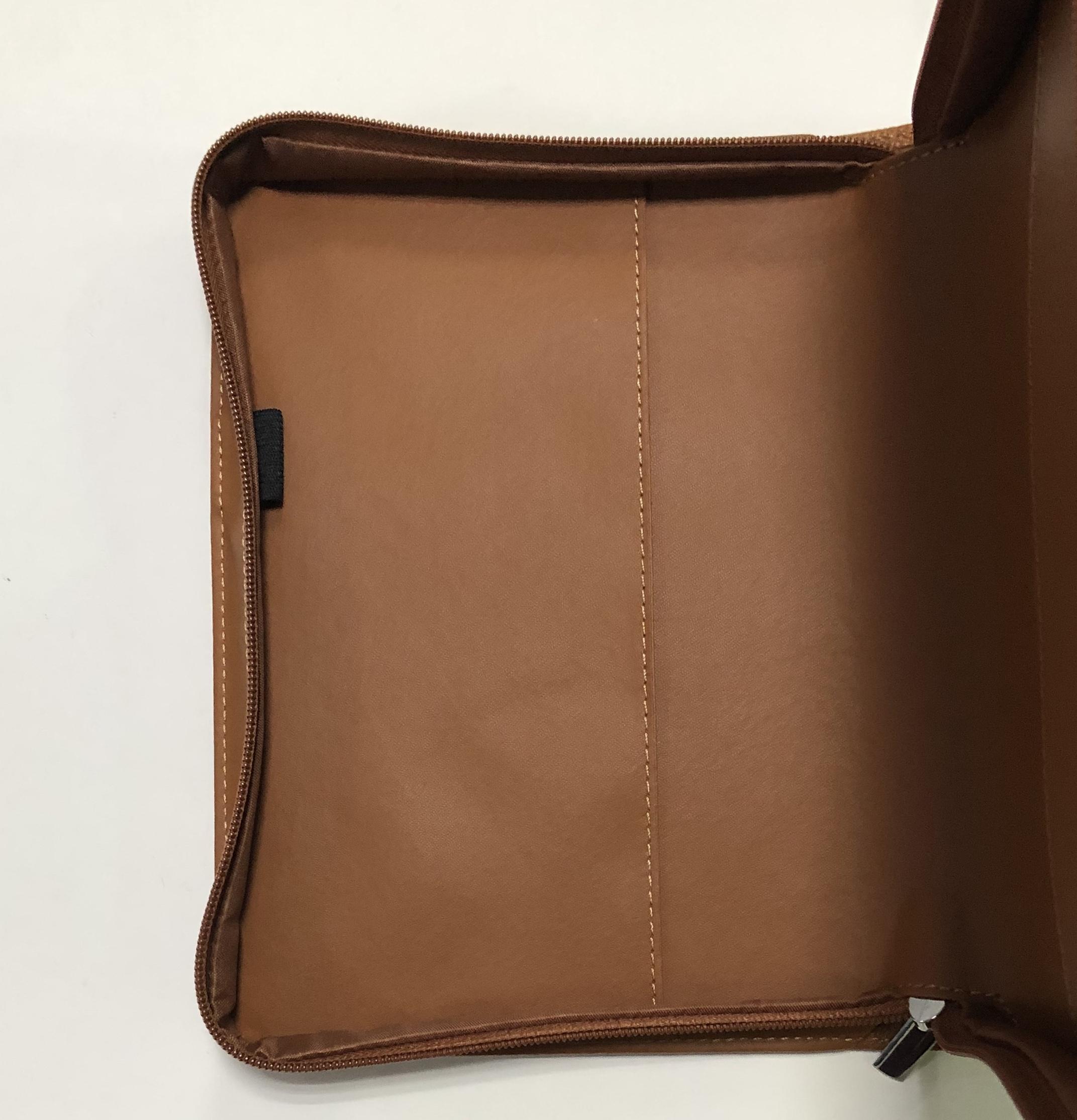 Высококачественный кожаный портативный органайзер на заказ, чехлы для книг Библии с ручкой