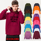 Hoodies Embroidery Hoodie Unisex Sweatshirt Brand Hoodies For Men Casual Tracksuit Custom Printing Embroidery Pullover Sweatshirts With Logo