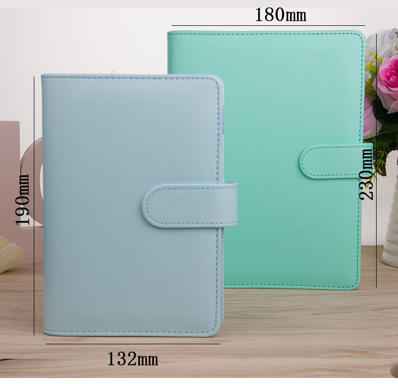 hot selling custom macarons planner cover binder 6ring notebook cover