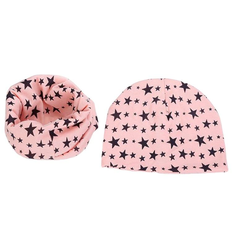 Детский зимний комплект из шапки и шарфа с принтом логотипа