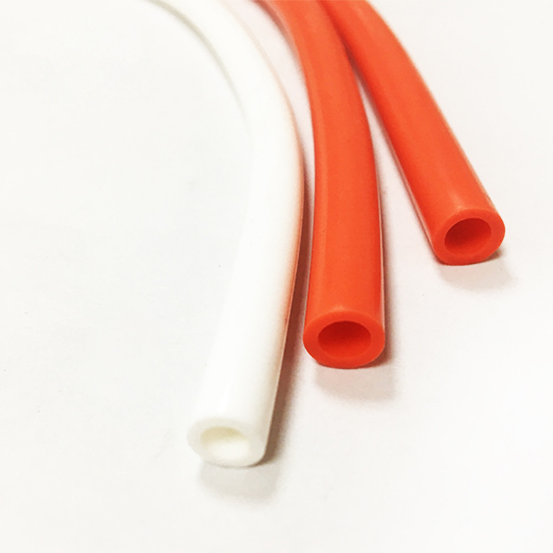Factory Manufacture High Precision Molded Extrusion Silicone Small Rubber Tube
