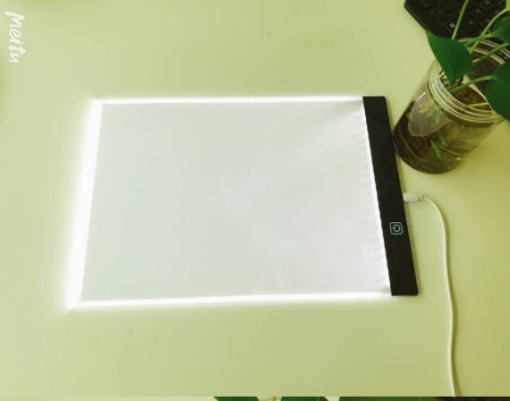 Ультратонкий Светодиодный светильник A4 для рисования, Светодиодная доска для рисования A4, светильник для рисования для школы