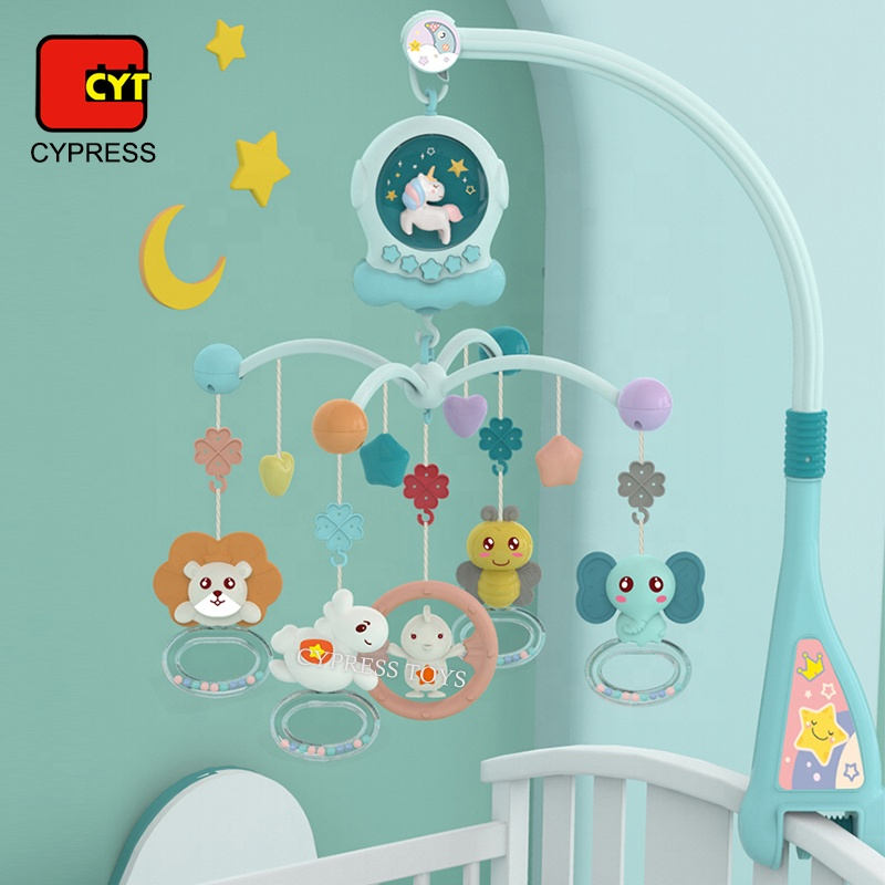 Wholesale ECO-Friendly Baby Musical Mobile Toys Baby Bed Bell Toy Baby Crib Mobile Toy