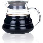 Resistant Pyrex High Borosilicate Turkish Arabic Barista Mini Cloud V60 Flask Liner Teapot Infuser Kettle Set Glass Coffee Pot