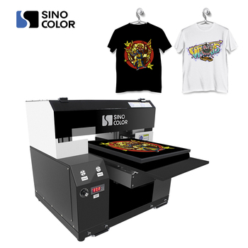 Manufacturer Direct Sale A3 30x40cm 2 Printheads Photo Quality Easy Maintain Direct to Garment Printer For Any Color T-shirt