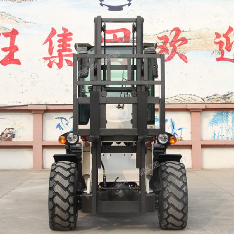 Factory supply rough terrain forklifts price