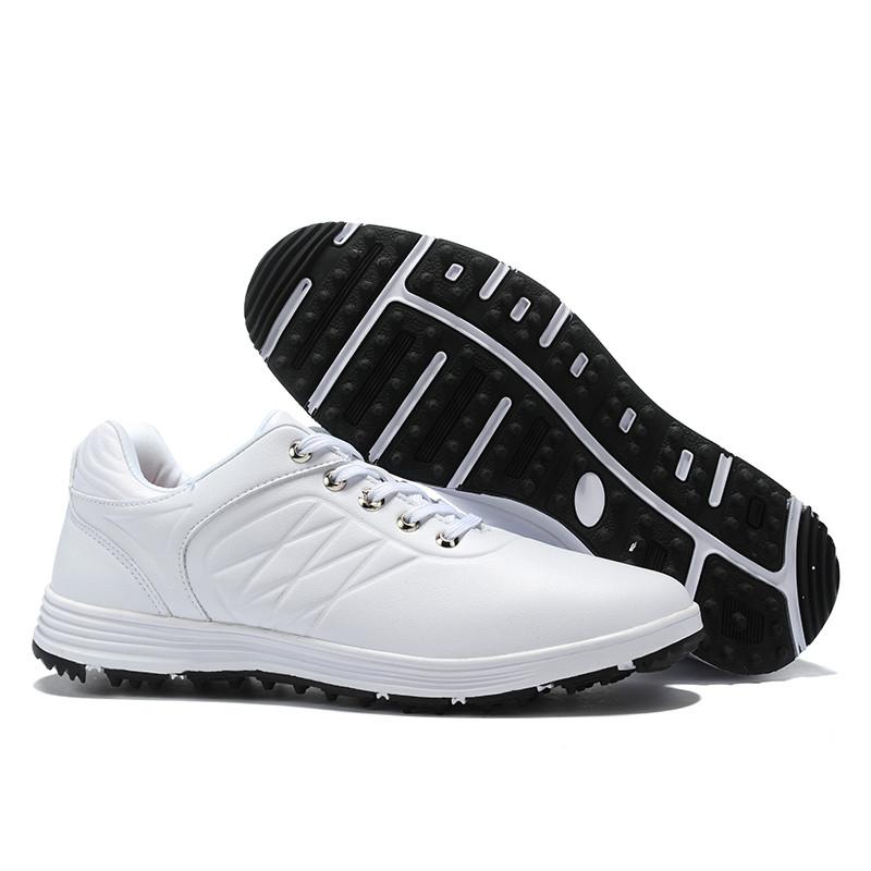 Мужская водонепроницаемая обувь для гольфа, нескользящая износостойкая дышащая Спортивная обувь для гольфа, новинка 2019