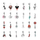 Selling Sterling Silver Silver 925 Silver Silver Pendant Hot Selling 925 Sterling Silver Mickey Cute Series DIY Bracelet Charm Pendant For Pandora