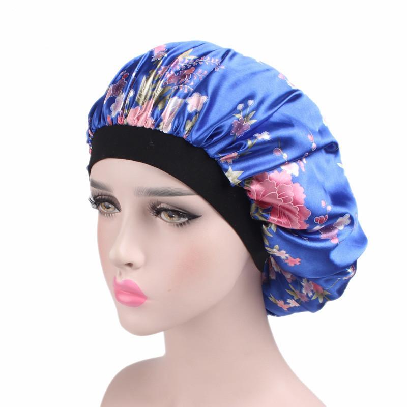 Customized silk Double Bonnet Hot sale items Low behind MOQ Bonnet with Custom Logo