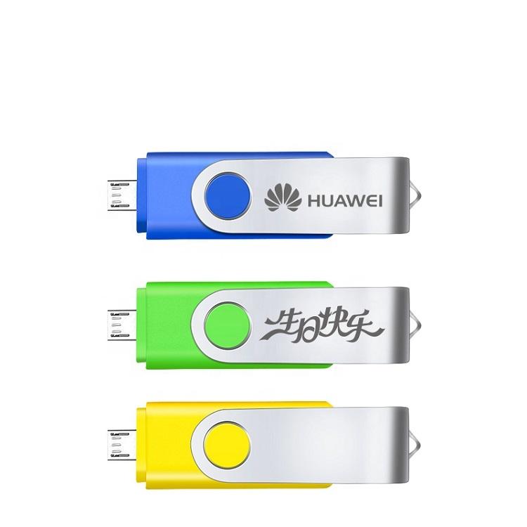 OTG USB Flash Drive 128GB 64GB 32GB 16GB 8GB 4GB 2GB Pen Drive Smartphone Pendrive OTG 2.0 USB Flash Drive - USBSKY | USBSKY.NET