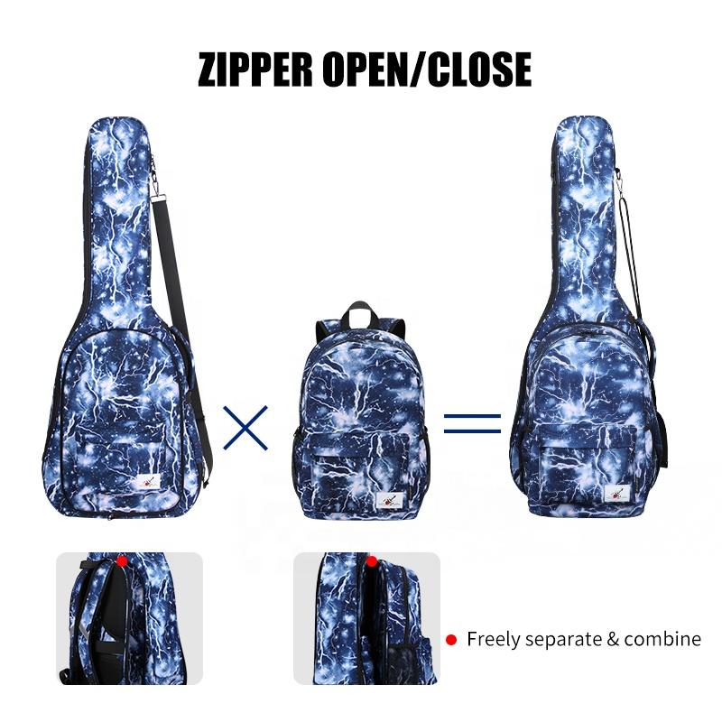 Сумка для переноски гитары на заказ, рюкзак 41, 16,1 дюйма, водонепроницаемая классическая мягкая сумка для гитары