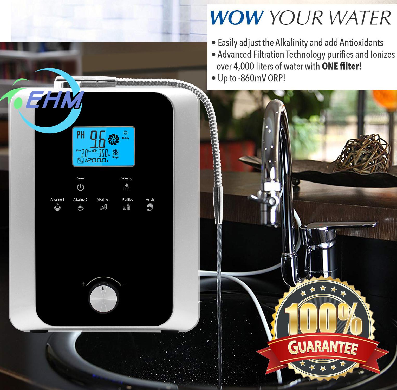 Ионизатор щелочной воды PH2.8 ~ 11, коммерческий ионизатор воды