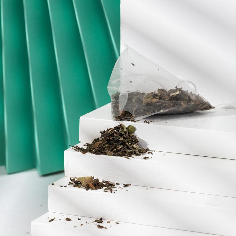 Fragrance OEM Bulk Fragrance Golden Packaging Tin Box Original White Tea - 4uTea | 4uTea.com