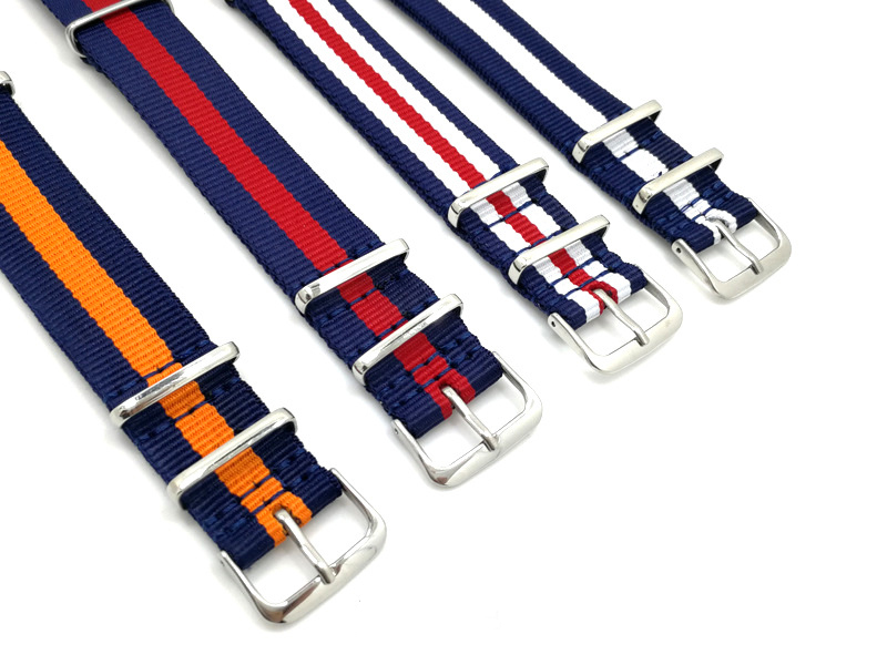 18 20 22mm nylon wrist nato watch band watch strap sport woven nato