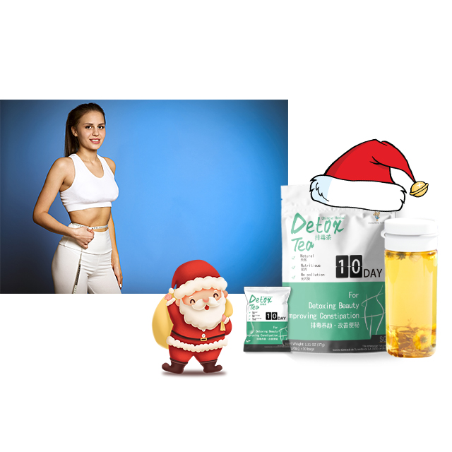 2020 Alibaba best seller Fat Burning Bag packaging Christmas slimming tea - 4uTea | 4uTea.com
