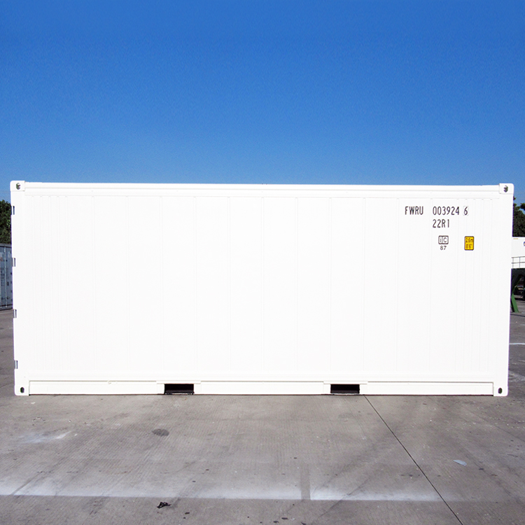20 feet reefer container equip Thermo King cooling unit R-404a