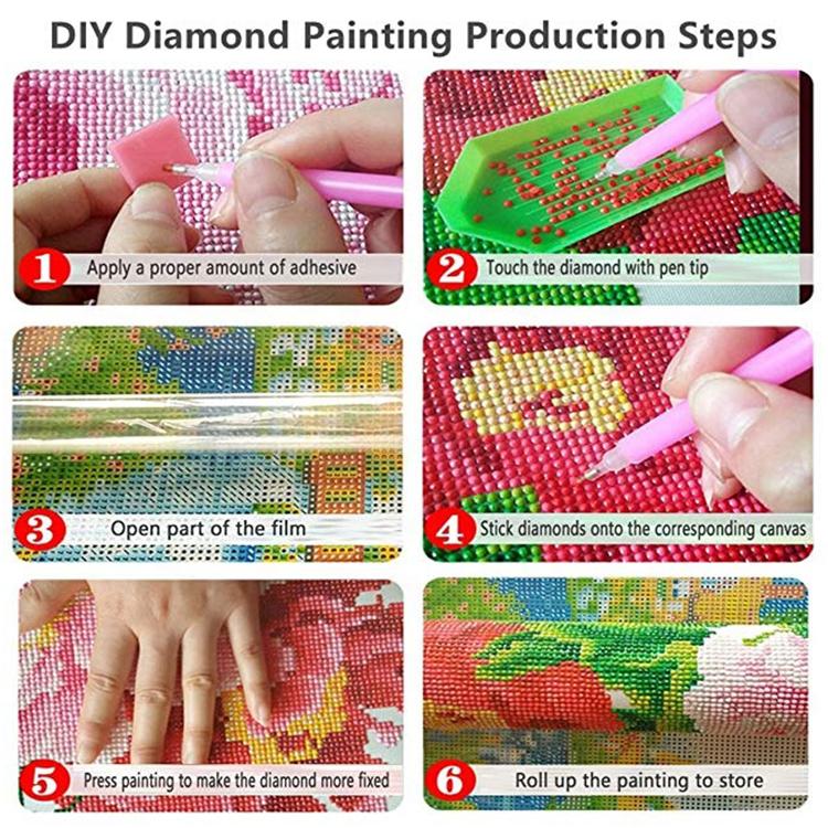 New hot selling wholesale diamond painting DIY diamond painting home decoration Angel Unicorn series 5D diamond painting