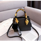fashion high quality pu leather shoulder bag shopper women simple crossbody bag ladies leather bags handbags scarves