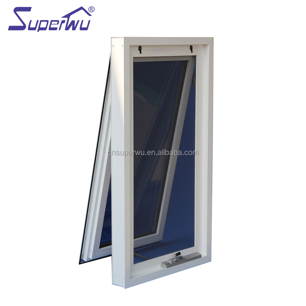 Florida approve Certified Products Thermal break aluminum awning window