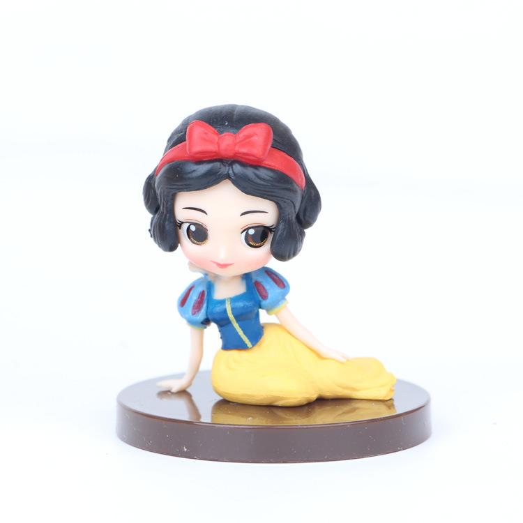 Лидер продаж, игрушка Disney из ПВХ, 8 моделей, принцесса 2-го поколения, Русалка, милый подарок для девочек, украшение торта, кукла принца