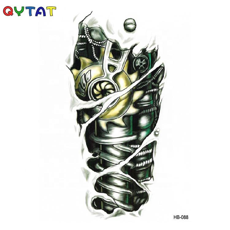 QYTAT Long Lasting Watercolor Temp Tatoos For Men
