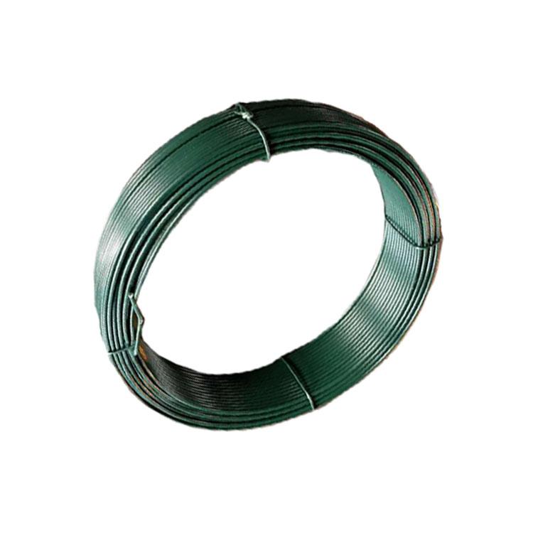 Sanfan/PVC PE Vinyl Covered Steel Wire Coated Iron Binding Wire Wholesale