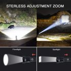 Torch Flash Led Led3*xhp50 Led Flashlight 10000 Lumens Powerful 10W 10000 Lumens 5Modes Waterproof Camping Outdoor Tactical Torch Flash Light LED USB Rechargeable Flashlights
