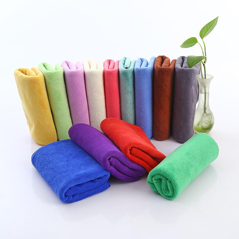 Китай, лидер продаж, чистящая ткань из микрофибры, полотенце для рук из микрофибры