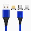 Blue cable+3connectors