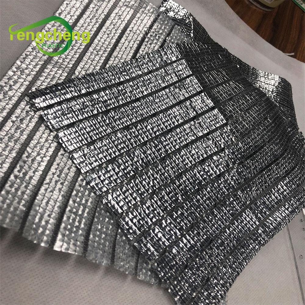 99% наружная затеняющая занавеска для теплицы на заказ, Солнцезащитная сетка из алюминиевой фольги