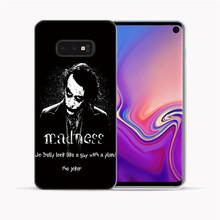 Мягкий чехол Joker 2019 из фильма Joaquin Phoenix для samsung Galaxy S10 Plus 5G S10E S6 S7 Edge S8 S9 Plus Note 10 Pro 9 8(Китай)