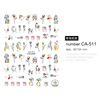 nail stickers decals CA511
