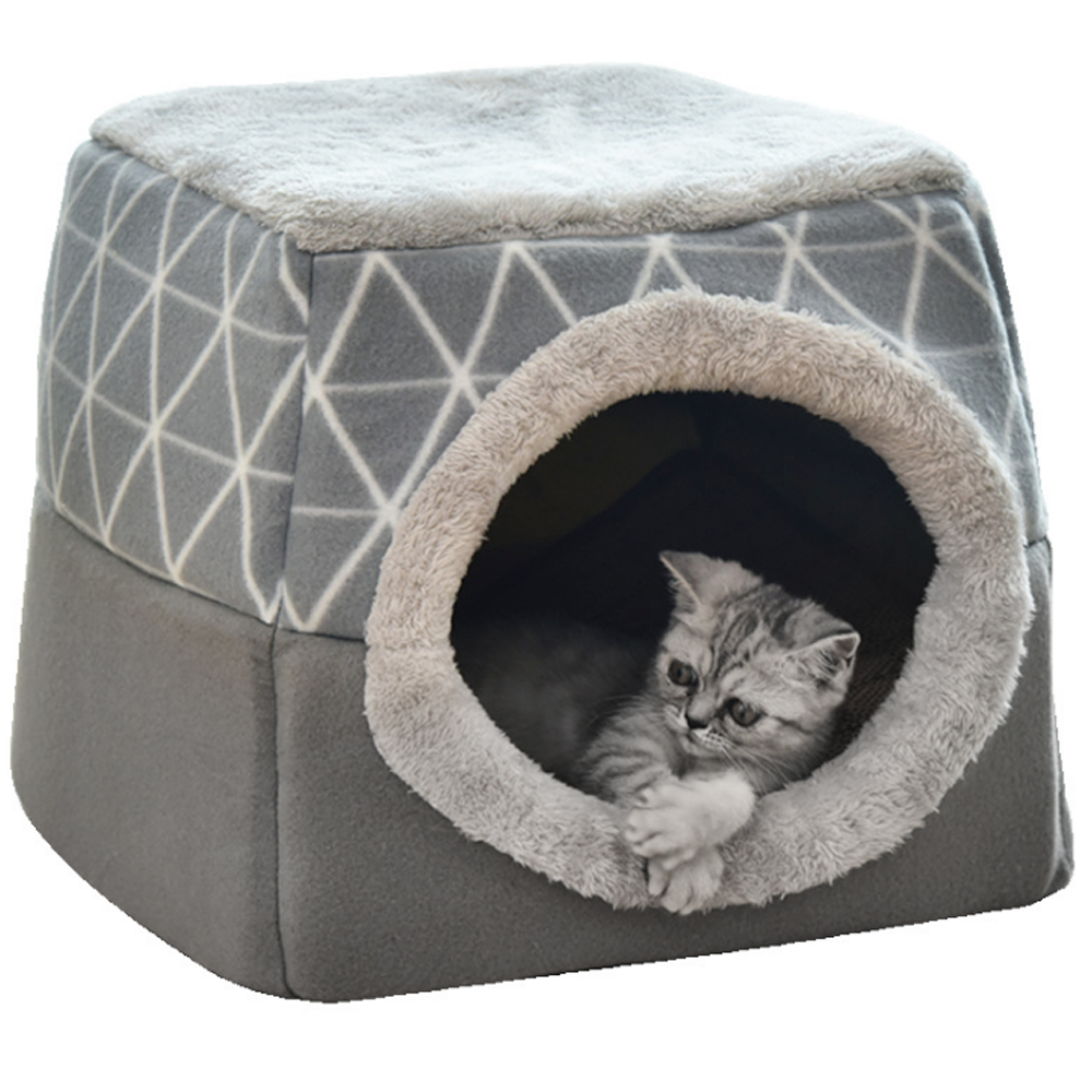 High Quality Hot Sale Multifunction Pet Hut Cat Show Tent Indoor Cat House Dual Use Buy Pet Nest Cat Sleeping Bed Pets House Product On Alibaba Com