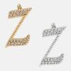 Z - 18k gold or rhodium