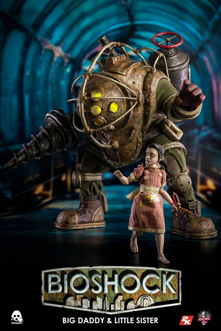 Threezero 1 6 Big Daddy Little Sister 3z0045 Collection Action Figure