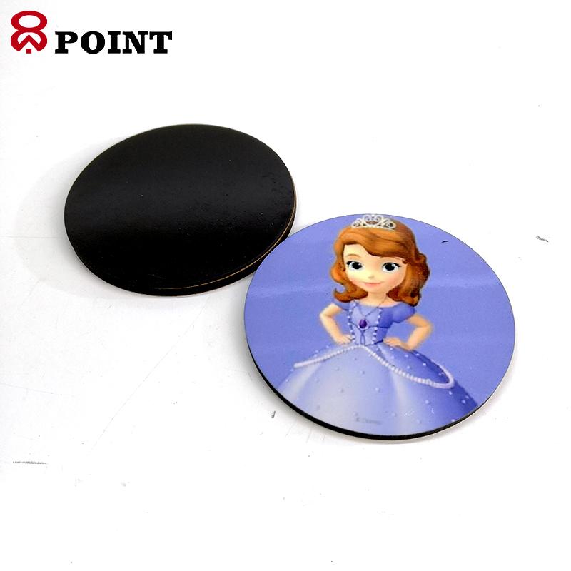 8 point Houseware Factory outlet Bulk sublimation blank fridge magnet